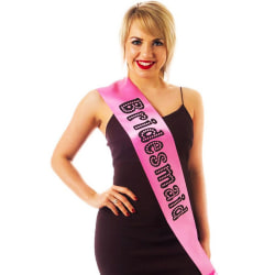 Alandra Miss Behave Bridesmaid Hen Night Sash One Size Pink Pink One Size