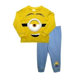 Minions Boys Stuart Pyjamas Set 5-6 år Gul/Blå Yellow/Blue 5-6 Years