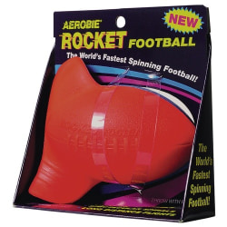 Aerobie Rocket Football One Size Red Red One Size