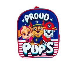 Paw Patrol Barn / barn stolta valpar ryggsäck One Size Navy / Rö Navy/Red One Size