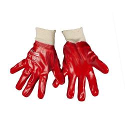 Blackrock Mens General PVC Knitwrist Handskar One Size Röd Red One Size