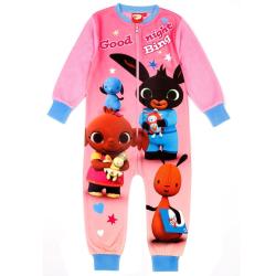 Bing Bunny Girls Good Night Bing Bodysuit 4-5 år rosa Pink 4-5 Years