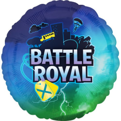 Battle Royal Foil Balloon 18in Flerfärgad Multicoloured 18in