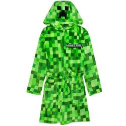 Minecraft Boys Creeper Pixel morgonrock 7-8 år grön Green 7-8 Years