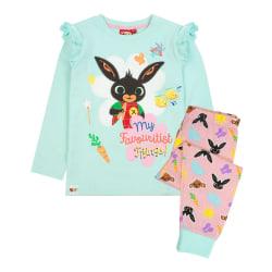 Bing Bunny Girls Characters Långärmad pyjamasuppsättning 2-3 år Pi Pink/Mint 2-3 Years