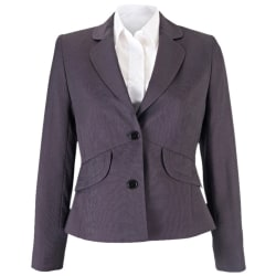 Alexandra Womens / Ladies Icona Formal Fitted Work Suit Jacket 8R Charcoal 8R