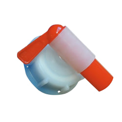 Battles Tap Cap för 25 liters trummor One Size Red Red One Size