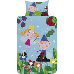 Ben and Hollys Little Kingdom In The Woods Påslakanset Singl Multicoloured Single