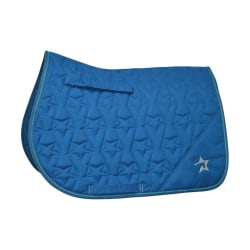 HySPEED Zeddy Saddle Pad Cob Cobalt Blue/Petrol Blue/Turquoise Cobalt Blue/Petrol Blue/Turquoise Cob