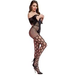 Cindylove Dam/Dam Amber Bodystocking One Size Svart Black One Size