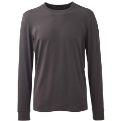 Anthem Mens långärmad T-shirt XL kolgrå Charcoal Grey XL