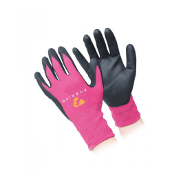 Aubrion Unisex Vuxen All Purpose Yard Handskar L Rosa / Svart Pink/Black L