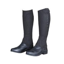 Moretta Unisex vuxna Amara Half Chaps XL S Svart Black XL S