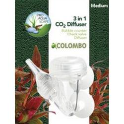 Colombo CO2 3-1 Diffuser Medium Clear Clear Medium
