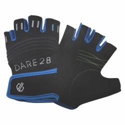 Dare 2B Kids Suasive Fingerless Cycling Mitts / Guide 8-10 Years B Black/Petrol Blue 8-10 Years