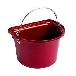 Stubbs platt hink en storlek röd Red One Size