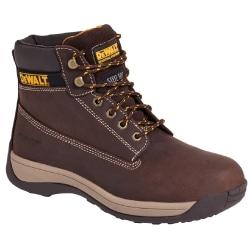 Dewalt Mens Apprentice Leather Industrial Steel Toe Safety Boot Brown 12 UK