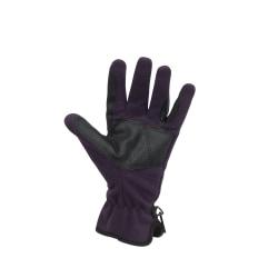 Dublin Vuxna Unisex Polar Fleece ridhandskar Medium Lila Purple Medium