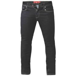 Duke Mens Cedric King Size Tapered Fit Stretch Jeans 54S Indigo Indigo 54S