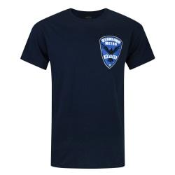 Arrow Mens Starling City Metro Police T-shirt S Blå Blue S