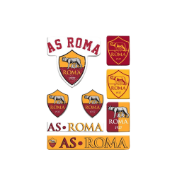 AS Roma Bubble Sticker Set One Size Yellow / Red Yellow/Red One Size