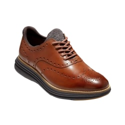 Cole Haan Mens OriginalGrand Ultra Leather Oxford Skor 10 UK Da Dark Brown/Black 10 UK