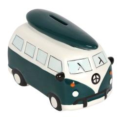Something Different Campervan Money Pot One Size Cream / Dark Gree Cream/Dark Green One Size