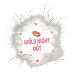 Alandra Girls Night Out Blinkande brosch One Size Star Lips Star Lips One Size