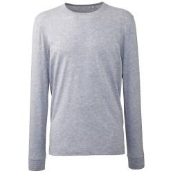 Anthem Mens Marl Långärmad T-shirt M Grå Marl Grey Marl M