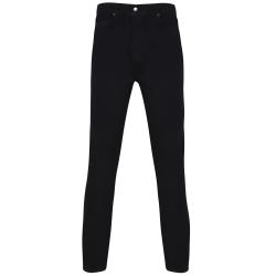 Skinni Fit Skinny Jeans för herrar 32L Svart Black 32L