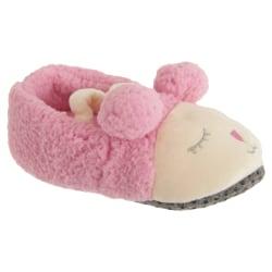 Slumberzzz Barnflickor glider på får tofflor 11/12 Child UK Rosa Pink 11/12 Child UK