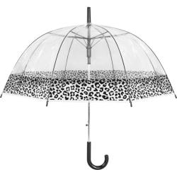 Susino Klar paraply med leopardtryck One Size Klar Clear One Size