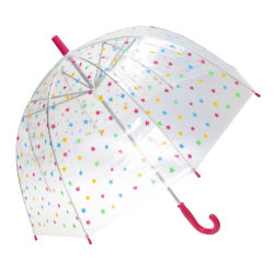 Susino Kvinnor / Damer X-brella Stars Paraply One Size Rosa Pink One Size