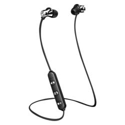 3,5 mm in-ear-headset-headset med trådbunden mikrofon silver