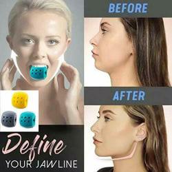 Träning för bollhals för ansiktsövning gray