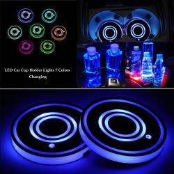 7-färgs RGB lysande dalbana interiör dekoration ljus