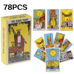 78 tarotkort orakelkort rider waite kortspel Plaid