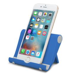 Universal Aluminium Mobiltelefon Skrivbord Hållare för iPhone etc. black