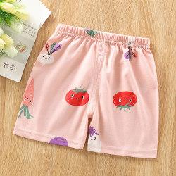 Barnens sommar mode casual tecknade shorts shorts pyjamas tomato 90cm