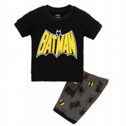 Batman Barnpojkar T-shirt + Shorts Set Home Wear Batman 120cm