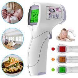 Familjebarn / vuxen feber termometer beröringsfri infraröd