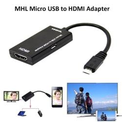 omvandlare - SCART till HDMI är lämplig för mobiltelefoner / datorer black