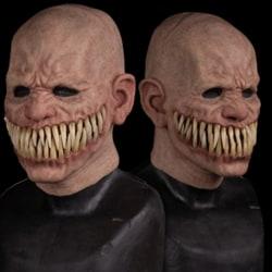 Halloween Skräck Latex Mask Läskig Kostym Rekvisit Sminkfest