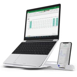 Höjdjustering Bärbar datorstativ för Macbook Pro bärbar support white