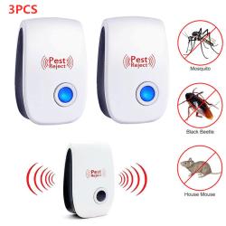 3 st Insektsmedel-ultraljud-avstötning _ 3 st Insektsmedel-ultr 3pcs