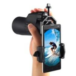 Mobiltelefon-teleskopadapterfäste - lämplig för iPhone - e