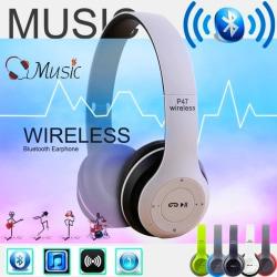 Over-ear P47 WIFI trådlöst Bluetooth-headset fällbar stereo red