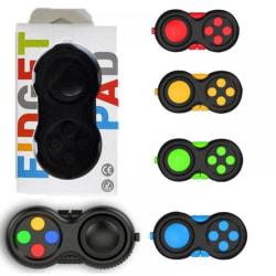 pop it fidget leksaker - leksak / sensorisk - välj modell / Gamepad Black color