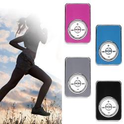 Sport Bluetooth MP3-spelare musikspelare med FM-radio black