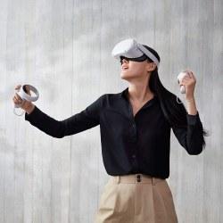 VR Quest2 - Allt-i-ett virtuella verklighetsglasögon VR-glasögon red